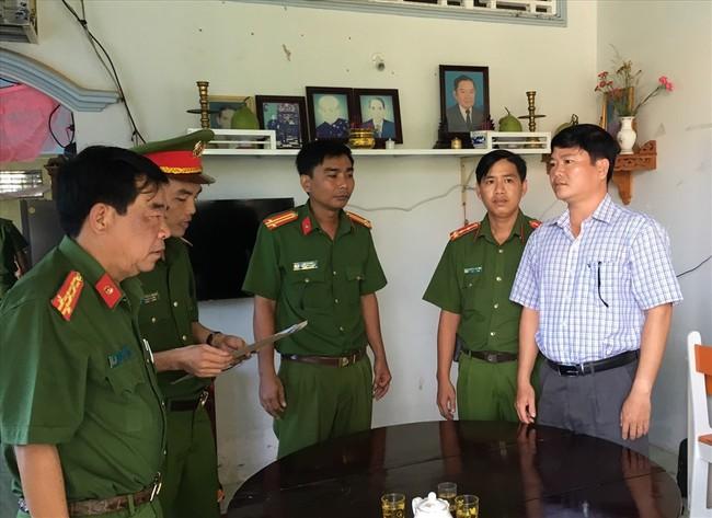 Công an thực hiện lệnh bắt tạm giam ông Trần Trường Sơn