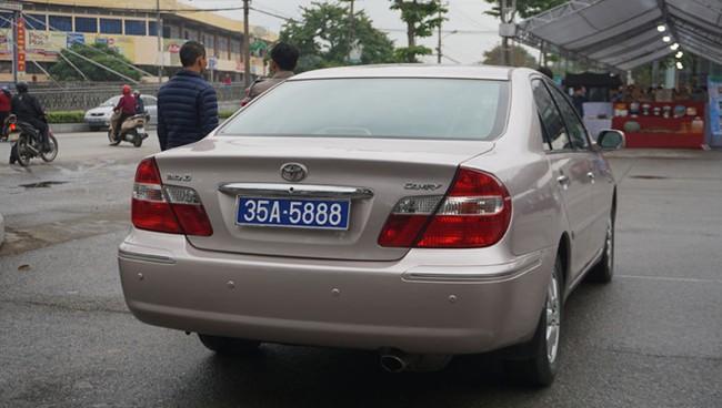 Vụ Phó bí thư thường trực Tỉnh ủy Ninh Bình sử dụng xe biển 80B: Thu hồi cả 2 biển số - ảnh 1