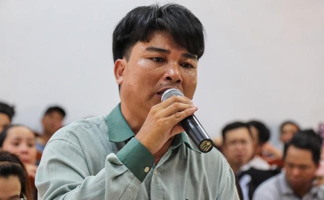 Bi thu, Chu tich Quang Nam doi thoai cung nguoi mua dat Bach Dat An hinh anh 2