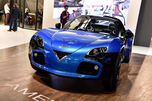 Xe màu xanh nước biển lên ngôi tại triển lãm xe Paris Motor Show