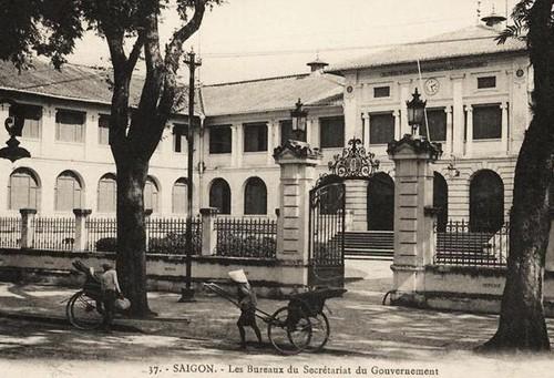 Tòa nhà Dinh Thượng thơ hồi đầu thế kỷ XX.