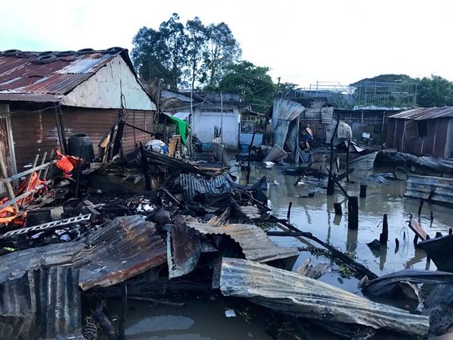 Thương hồ chợ nổi Cái Răng khốn khổ sau vụ cháy - ảnh 5