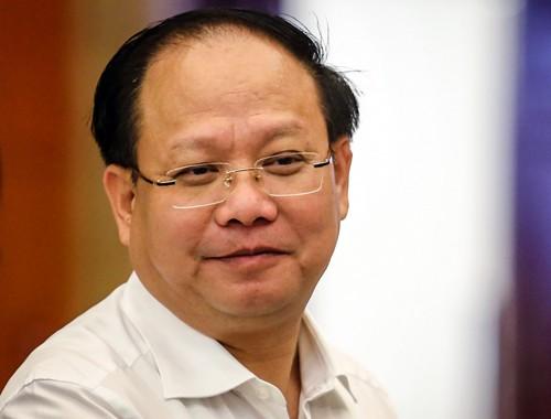 Phó bí thư Thường trực Thành ủy TP HCM Tất Thành Cang. Ảnh: Thành Nguyễn