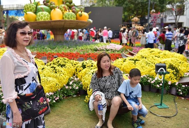 Chua het Tet, hang tram chau hoa bi dap nat o duong hoa Nguyen Hue hinh anh 14 duong_hoa_mong_3_tet_16_zing.JPG
