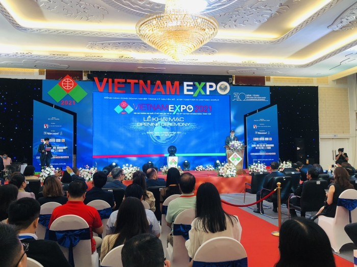 Vietnam Expo 2021 Attracts More than 300 Domestic and International Businesses