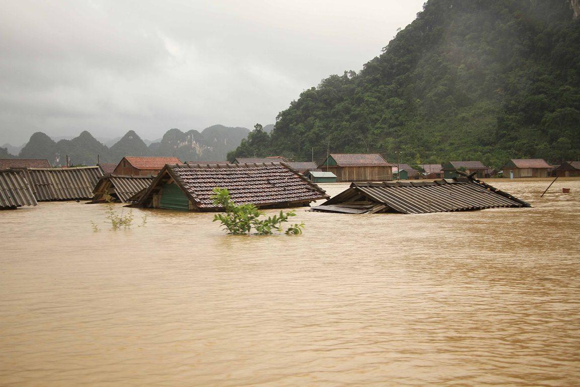 Hoa Kỳ viện trợ 100.000 USD giúp Việt Nam ứng phó bão Linfa