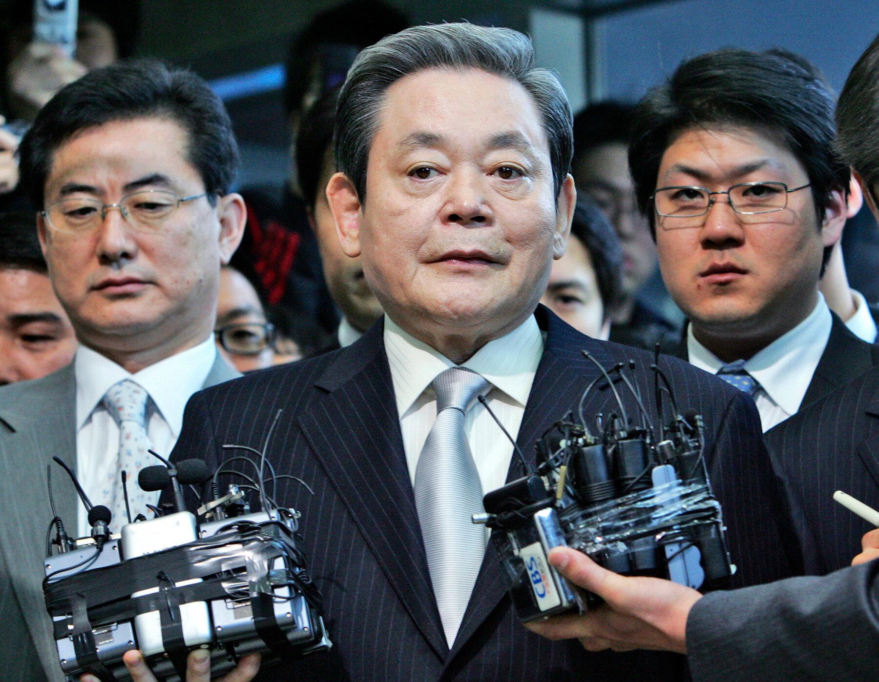 """Chủ tịch """"huyền thoại"""" của Samsung Electronics qua đời ở tuổi 78"""