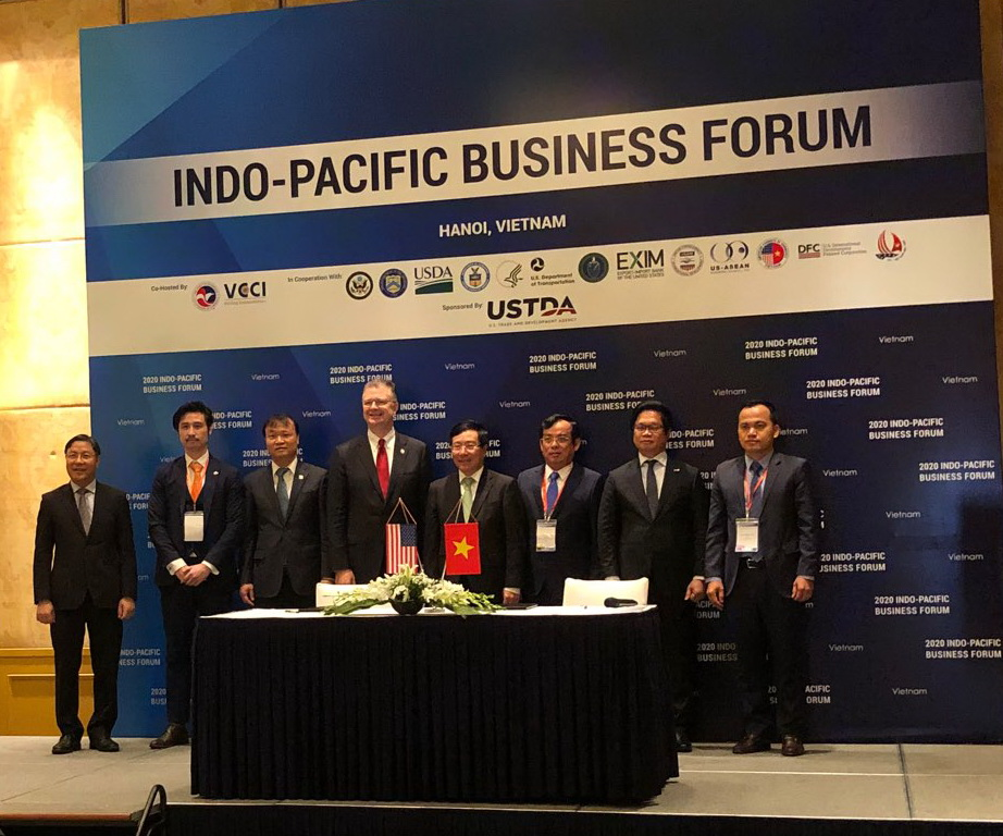 United States Companies and Vietnam Partners Sign Cooperation Agreements in Energy Sector