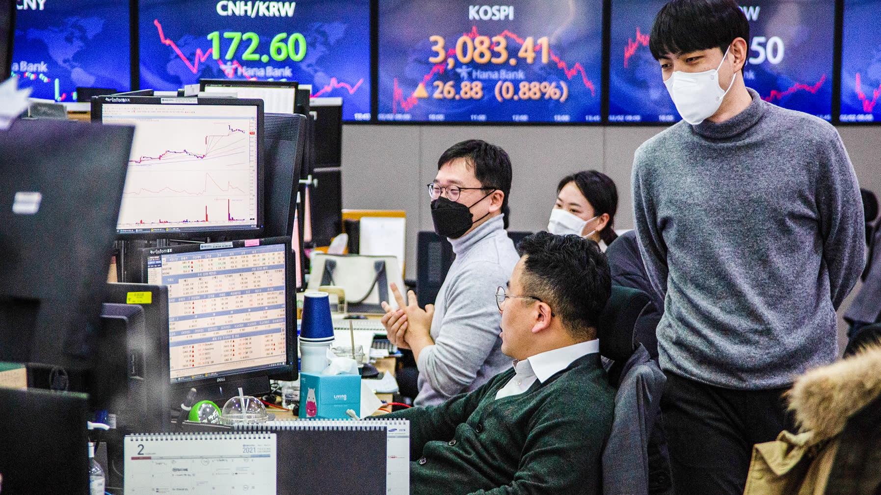 Nhà đầu tư chứng khoán Hàn Quốc nhỏ lẻ trước thách thức bán khống