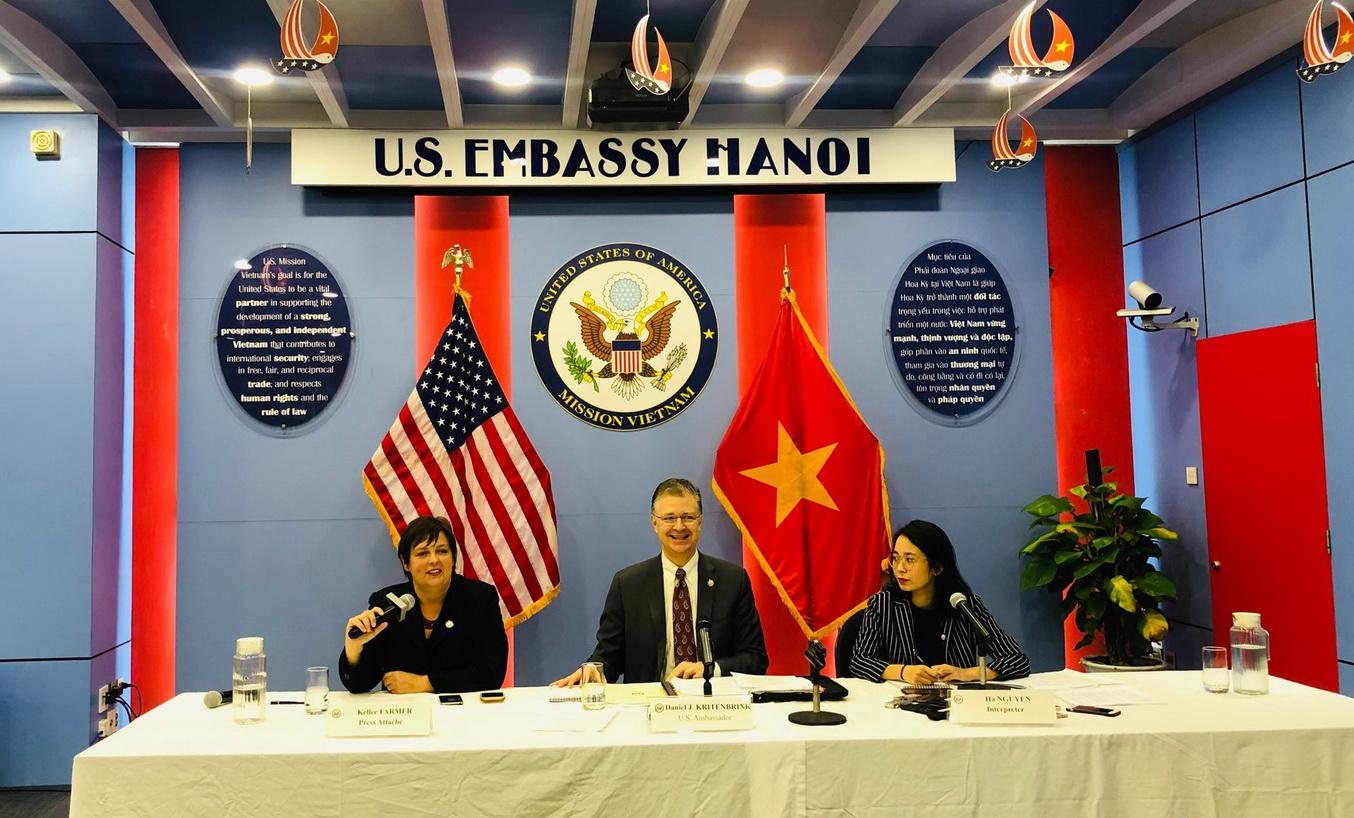 Đại sứ Daniel Kritenbrink và những chia sẻ cuối nhiệm kỳ trước khi rời Việt Nam