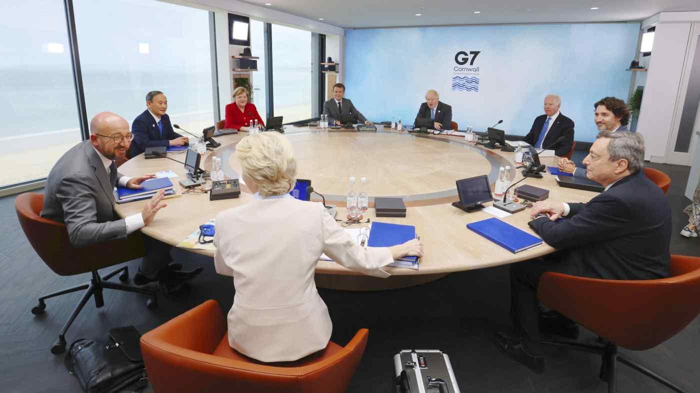 Nhóm các nước G7 thống nhất về sáng kiến hạ tầng đối đầu với Vành đai & Con đường của Trung Quốc