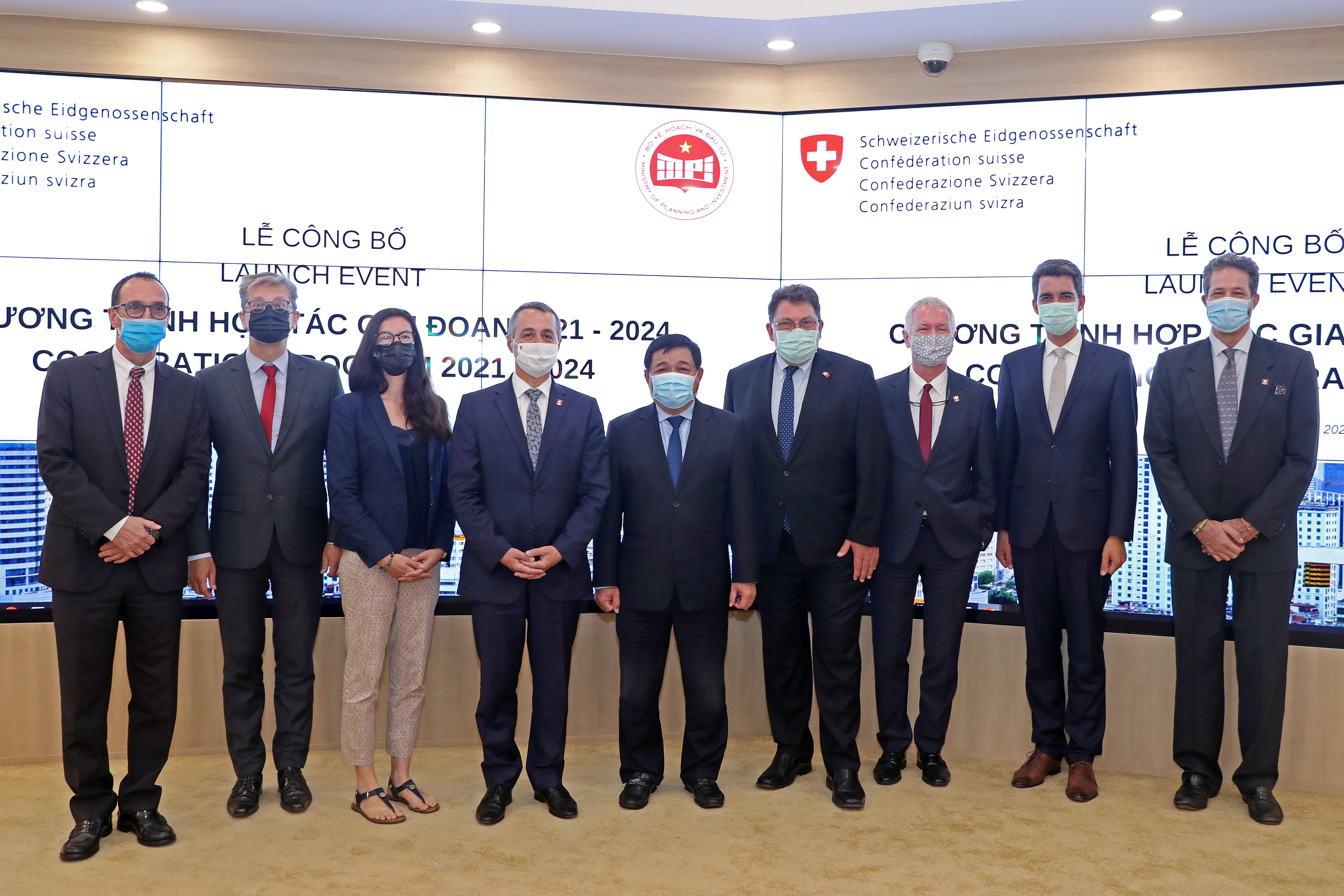 Công bố Chương trình Hợp tác Thụy Sĩ - Việt Nam với cam kết hỗ trợ 1,8 nghìn tỷ đồng
