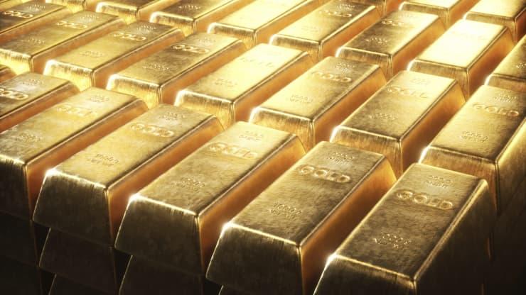 Giảm mạnh, giá vàng lại mất mốc 1.800USD