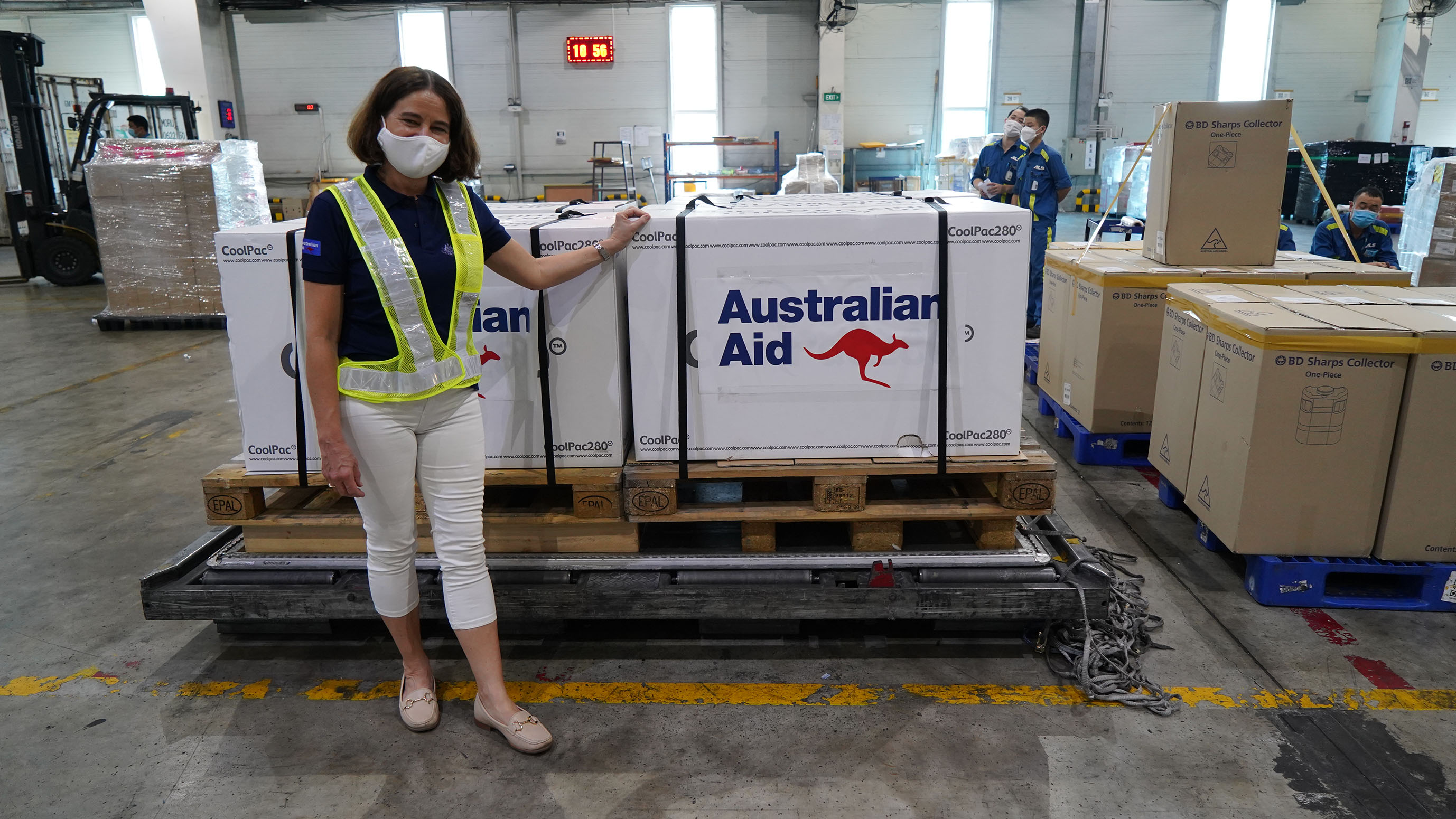 Australia Delivers An Additional 300,000 COVID-19 Vaccines And Increases Support to 5.2 Million Doses