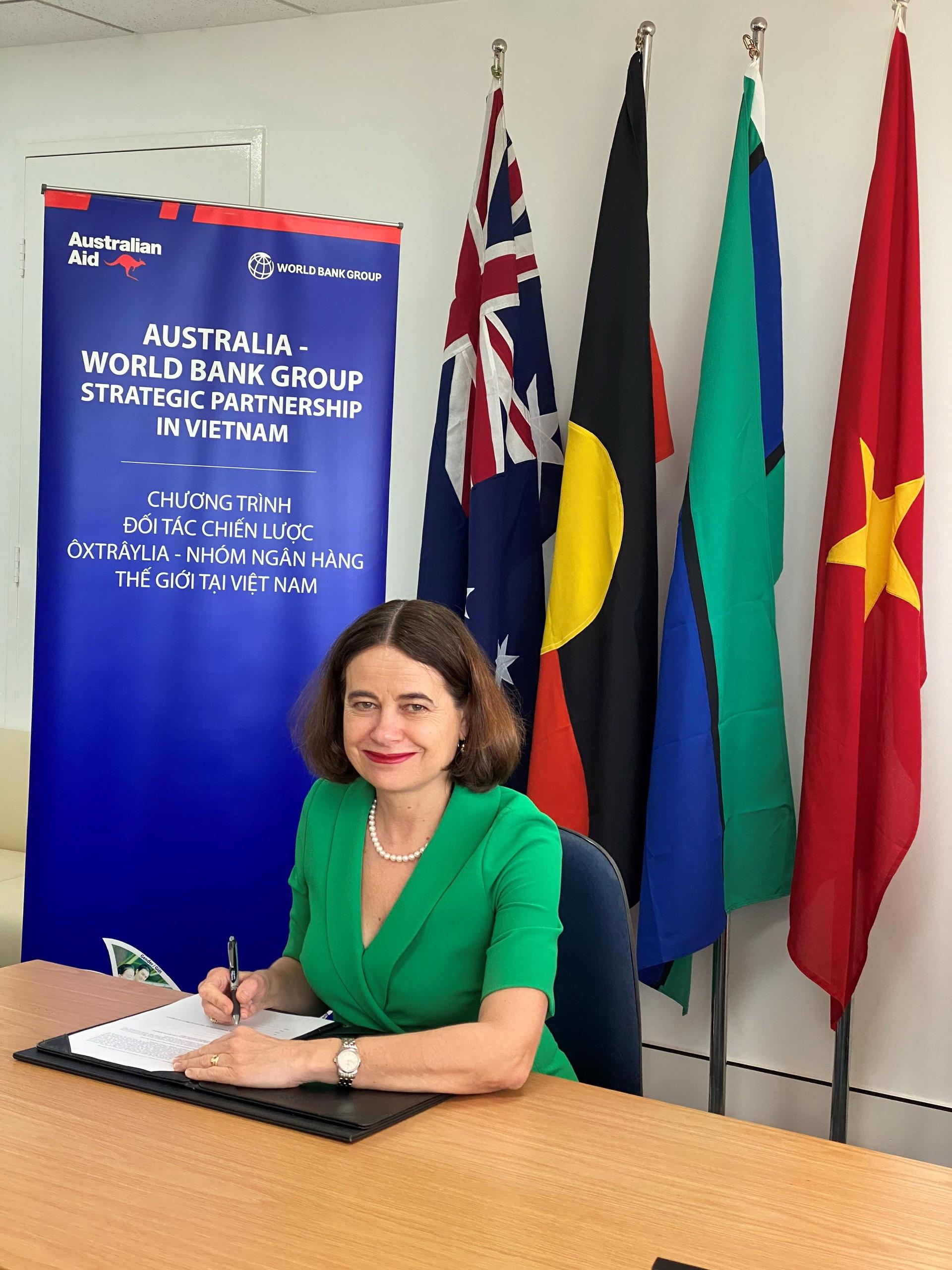 Chính phủ Australia và Nhóm Ngân hàng Thế giới Hỗ trợ Việt Nam Thúc đẩy Chương trình Phát triển