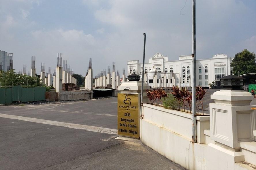 Đồng Nai: Tổ hợp 23.000m2 xây dựng không phép trên đất công
