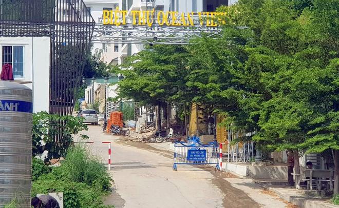Lập chốt ngăn xây dựng trái phép tại dự án Ocean View Nha Trang