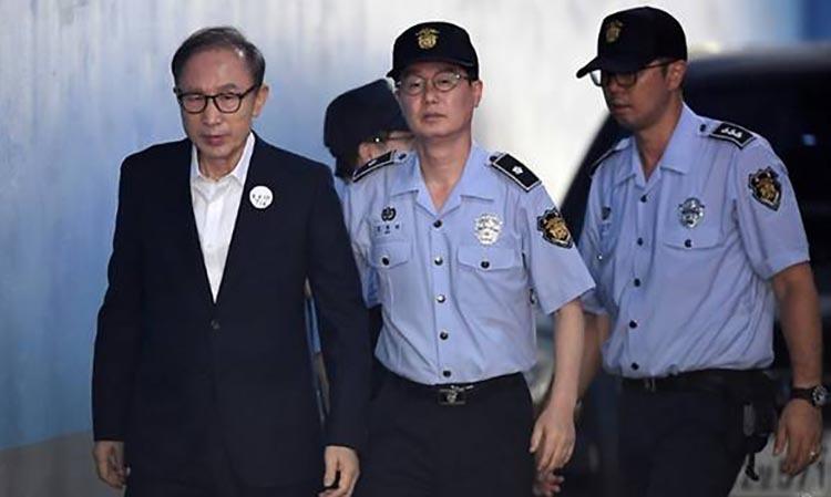 Cựu Tổng thống Hàn Quốc bị tăng mức án tù