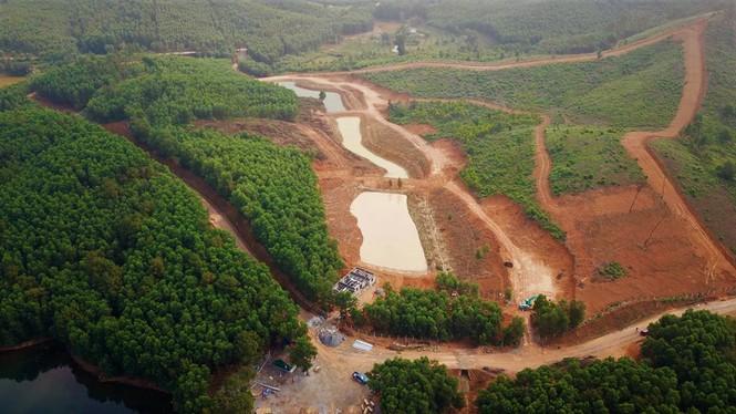 """Chủ rừng tự ý xẻ đồi xây khu sinh thái """"chui"""" trên đất lâm nghiệp?"""