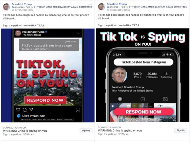 Ông Trump bắt đầu chiến dịch loại bỏ TikTok