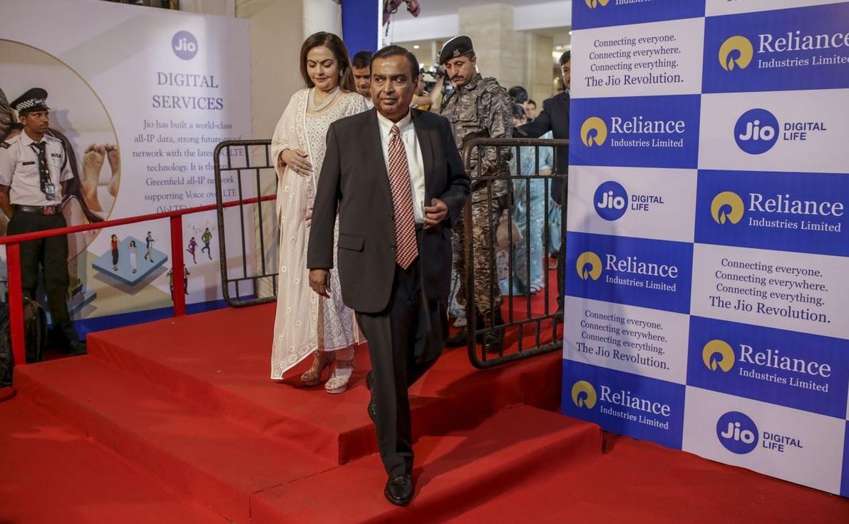 Tài sản liên tục tăng, tỷ phú Ấn Độ Mukesh Ambani lần đầu lọt top 5 thế giới