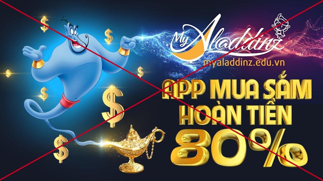 Bộ Công an: App MyAladdinz huy động vốn và kinh doanh đa cấp trái phép