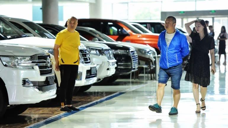 Ô tô Trung Quốc thất thế trong cuộc đua với đối thủ ngoại