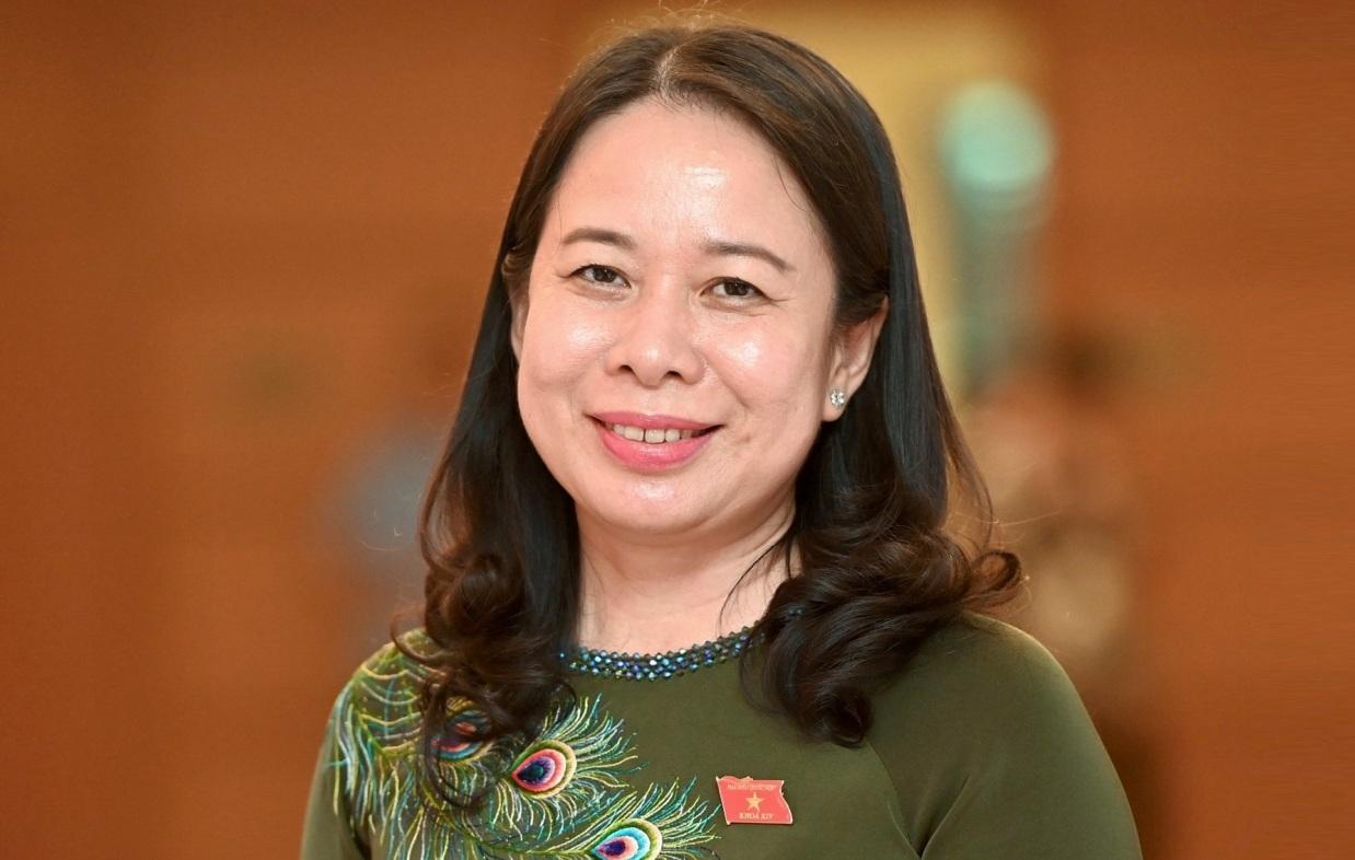 Bà Võ Thị Ánh Xuân được bầu giữ chức Phó chủ tịch nước