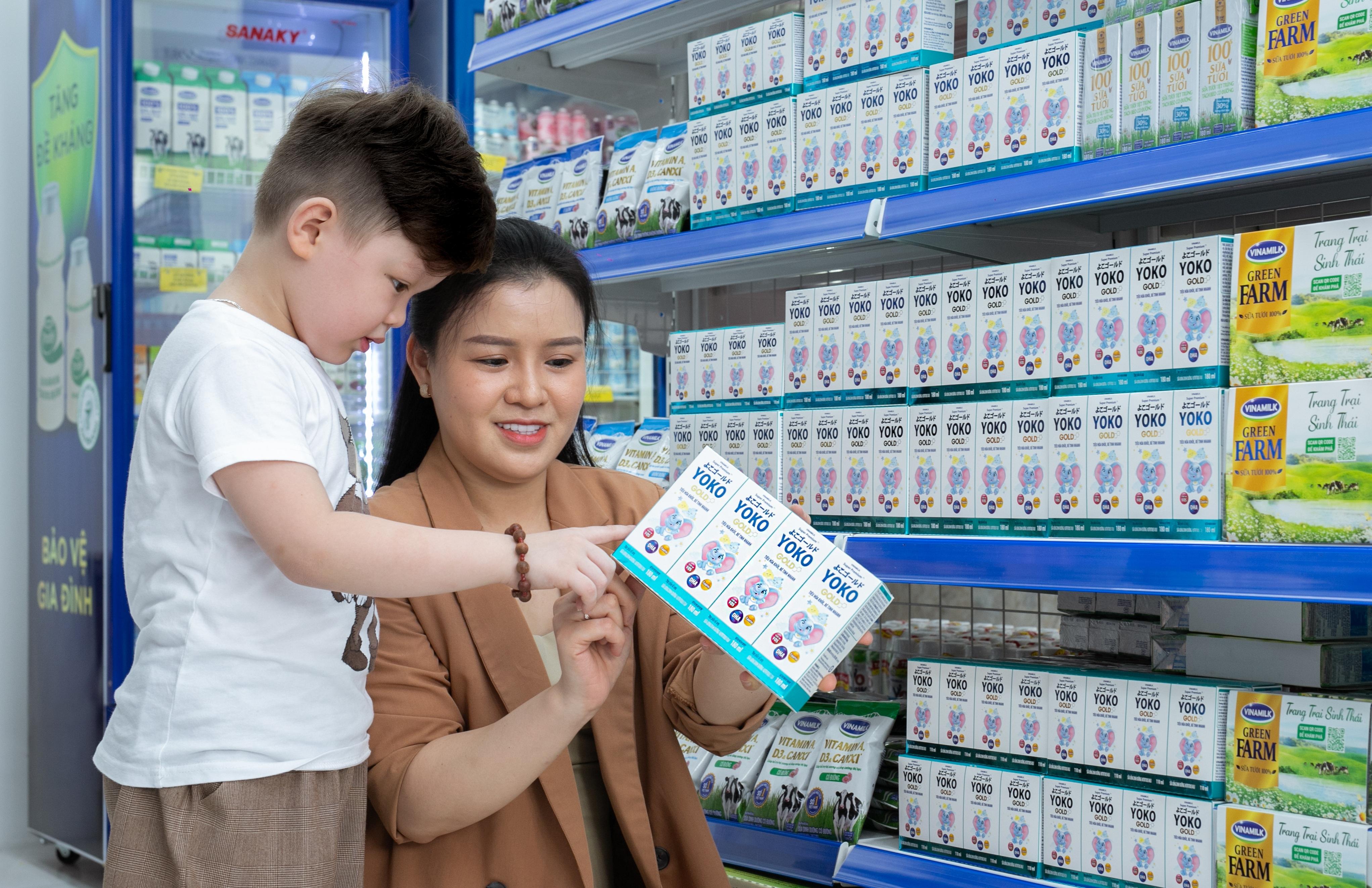 Vượt mốc 500 cửa hàng Giấc mơ sữa Việt, Vinamilk tăng trải nghiệm mua sắm cho người tiêu dùng