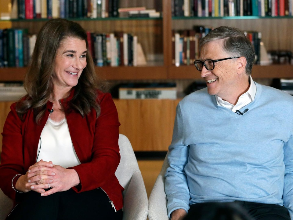 Bill va Melinda Gates ly hon anh 9