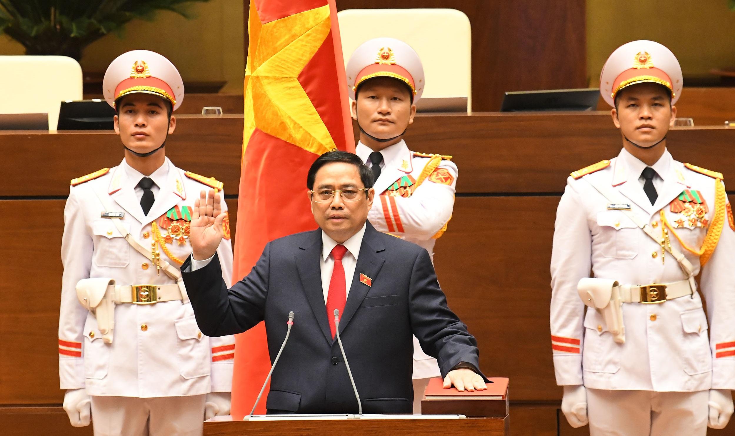 Ông Phạm Minh Chính tái đắc cử chức Thủ tướng Chính phủ nhiệm kỳ 2021-2026