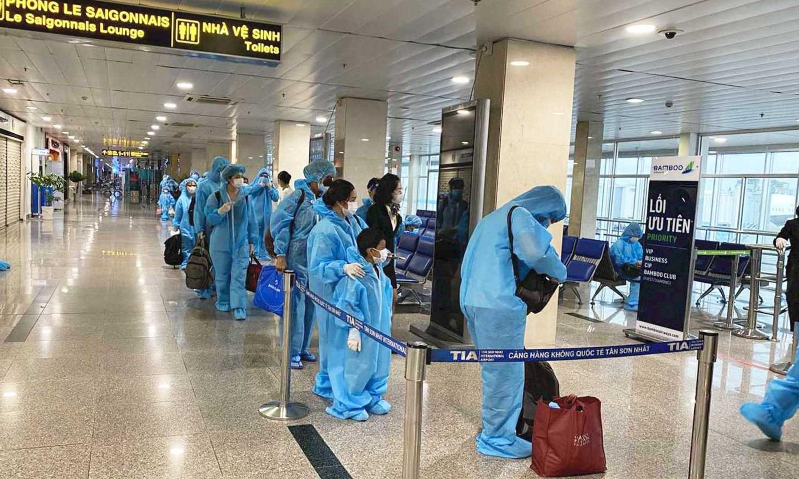 Bamboo Airways phối hợp tổ chức các chuyến bay đặc biệt đưa người Hà Tĩnh từ TP.HCM và các tỉnh miền Nam về quê
