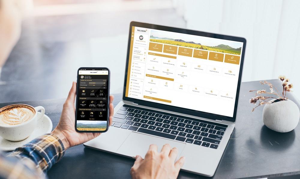 Bac A Bank ra mắt Internet Banking và Mobile Banking phiên bản mới