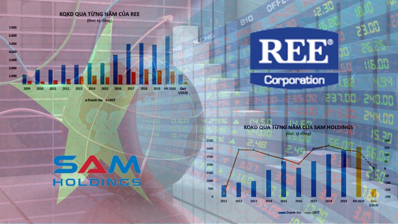 Hai cổ phiếu đầu tiên niêm yết SAM, REE sau 20 năm lên sàn