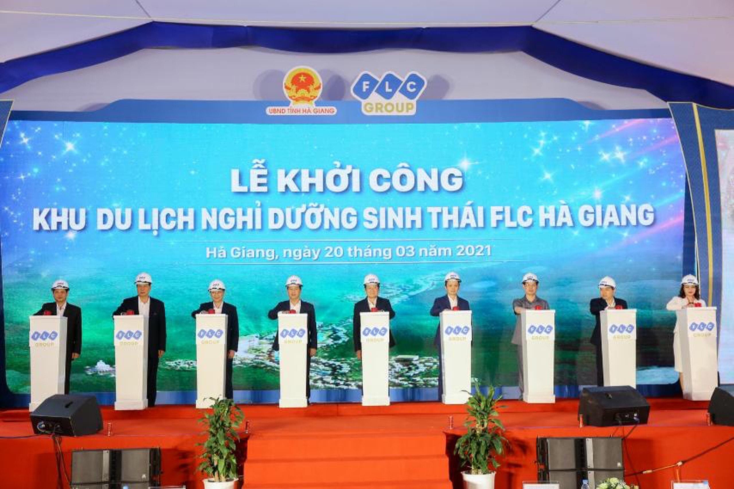 Tập đoàn FLC khởi công xây dựng khu du lịch nghỉ dưỡng sinh thái cao cấp tại Hà Giang