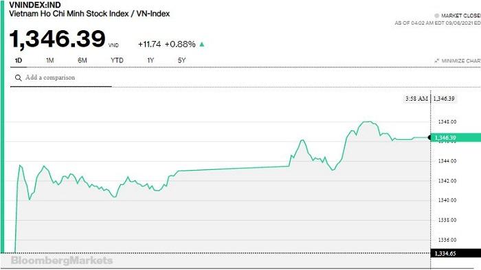 Chứng khoán 6/9: Hàng loạt cổ phiếu Midcap, Penny tăng trần, VN-Index tăng gần 12 điểm