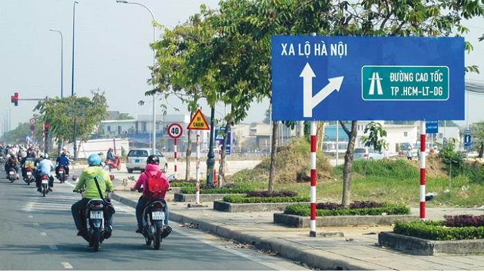 Mở rộng thêm 2 làn xe rẽ trái từ đường Mai Chí Thọ vào đường cao tốc TP.HCM - Long Thành - Dầu Giây