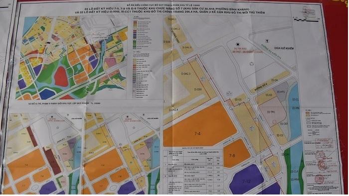 TP.HCM điều chỉnh cục bộ quy hoạch loạt khu đất tại Thủ Thiêm