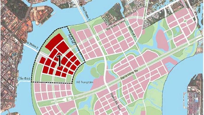 Đấu giá 9 lô đất trong Khu đô thị mới Thủ Thiêm