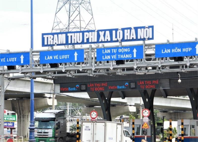 Bắt đầu thu phí trạm BOT Xa lộ Hà Nội
