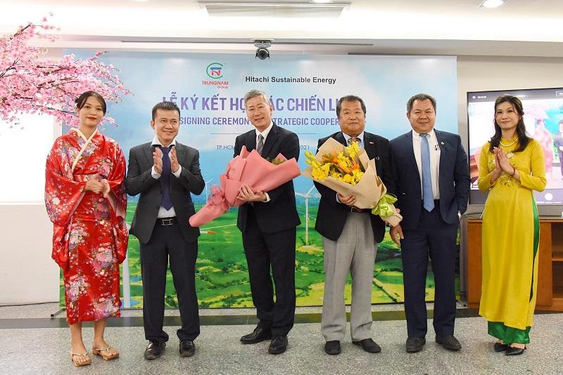 Trung Nam Group bán hơn 35% cổ phần dự án điện gió cho Hitachi