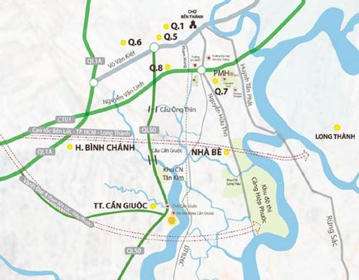 Gần 1.500 tỷ đồng nâng cấp, mở rộng Quốc lộ 50 đoạn qua TP.HCM