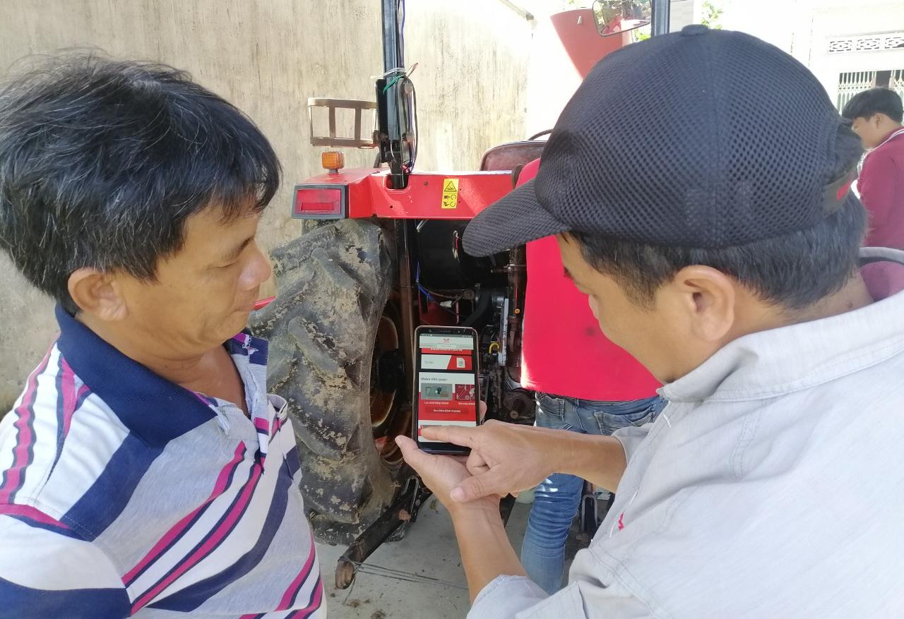 Yanmar Việt Nam ứng dụng công nghệ 4.0 vào sửa chữa máy nông nghiệp