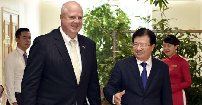 Tập đoàn Hanesbrands Hoa Kỳ muốn mở rộng nhà máy sản xuất tại Việt Nam