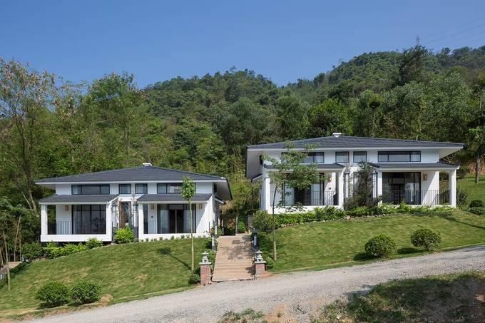 Ngôi nhà kiểu Nhật giữa lưng chừng núi Hòa Bình