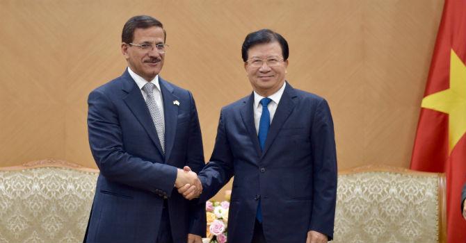 UAE muốn đầu tư nhiều lĩnh vực mới tại Việt Nam