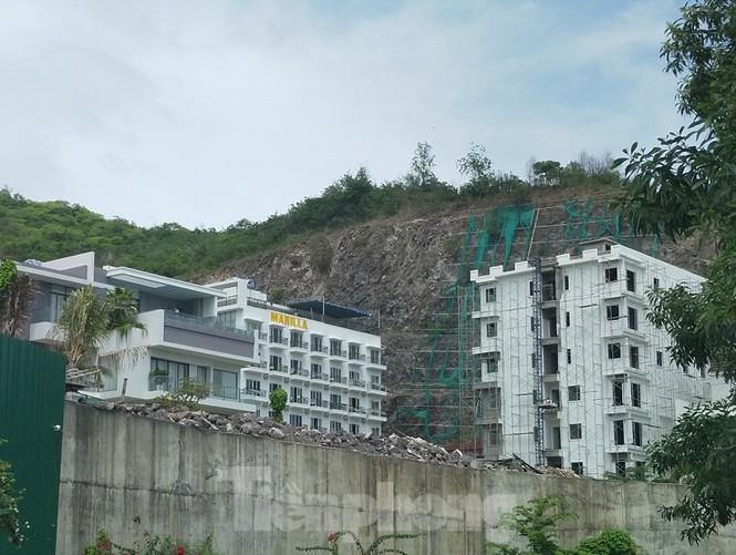 Bất chấp bị cưỡng chế, khu biệt thự Ocean View Nha Trang vẫn vô tư xây dựng - ảnh 5