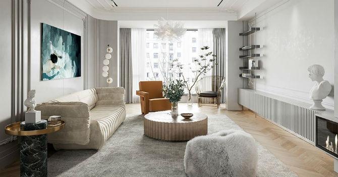 Ngắm căn hộ mang nét đẹp cổ điển Pháp thời hiện đại