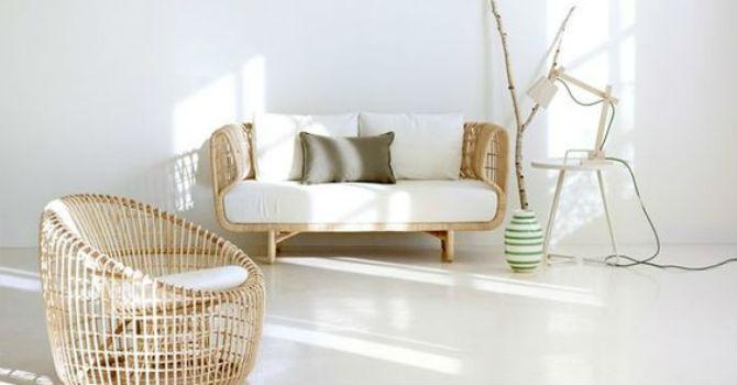 Mang thiên nhiên vào không gian sống với ghế sofa mây