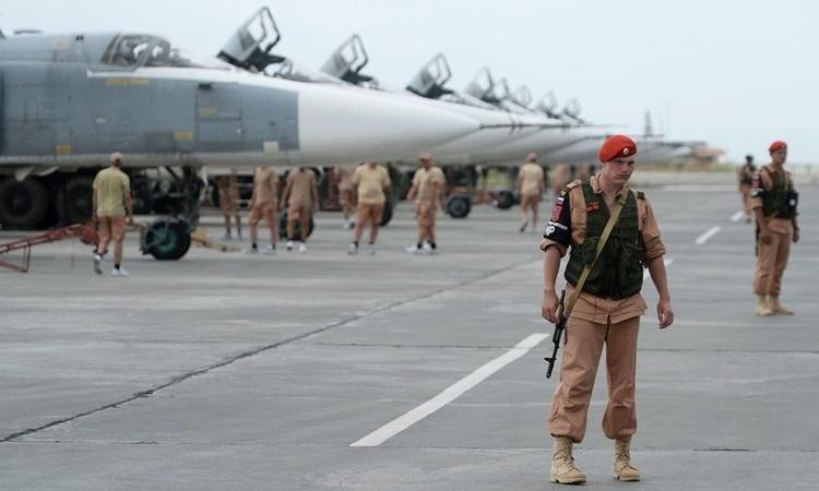 Căn cứ Nga ở Syria bị tập kích